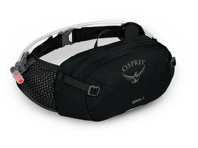 Osprey Seral 4 Hydration Waist Pack with Reservoir black